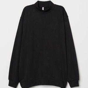 Worn once. Mock turtle neck sweatshirt